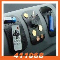 2pcs/lot Silicone Skin Mat Antiskid Mat Non-slip Pad for phone PDA MP3 MP4