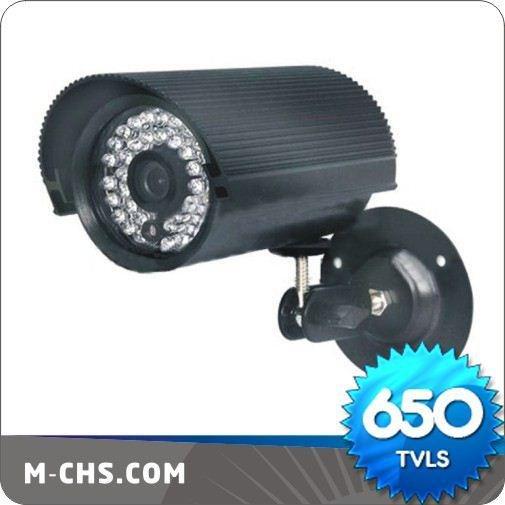 (C1108-S) 30M(100Feet) 650TVL Professional IR CCTV Waterproof Camera Free Shipping By Fedex(China (Mainland))