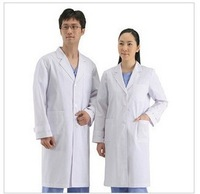 Summer doctor clothing white coat work wear uniform physician services lab coat long short-sleeve nurse pants