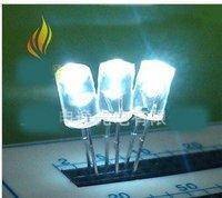 Wholesale 3000pcs/lot ,5mm concave white LED diode , F5mm white led bulb