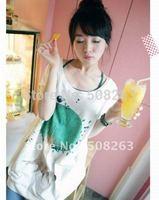 Hot Sell 2014 New Summer  Printing Cartoon Tree Lovely Tops Ladies women's T-shirt Tee T9933