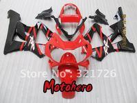 Free shipping red black fairing kit for 2000 2001 CBR900 929RR CBR900RR 00 01 929 CBR 900RR CBR929 RR & windscreen