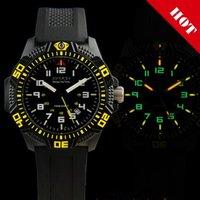 2012 Hot sell Military Tritium gas Waterproof Brand Swiss Titanium Carbon Fiber Army watches Sport Mens Men Watch