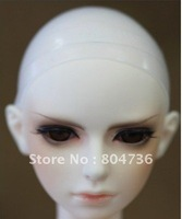 "5 pcs New 1/12 BJD Head Soft Silicone Wig Cap Size 3""-4"" BJD MSD Dollfie"