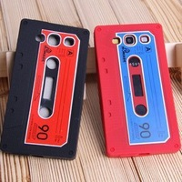 For Galaxy S3 Silicone Case, Cassette Tape Silicone Case Skin Cover for Samsung Galaxy S3 S III 3 I9300 100pcs/lot