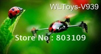 Wltoys V939 2.4G 4CH UFO Ladybird 3D Fly RC Helicopter GYRO RTF 4 axis V911 Upgrade