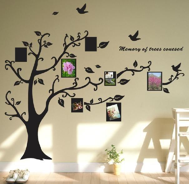 Как сделать дерево для фотографий своими руками на стену