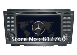 On Sales Car DVD Player For Mercedes Benz C CLASS W203(2004-2007) CLK CLASS(2009-2011) with GPS Bluetooth TV IPOD CAN-BUS(China (Mainland))