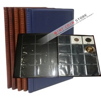 24*19cm  large EXCLUSIVE 120PCS  COINS Holder POCKET ALBUM-Free shipping