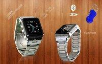 1.5'' Stainless Steel Waterproof Watch W818 Quadband Phone Bluetooth Camera MP3 MP4 Java e-books