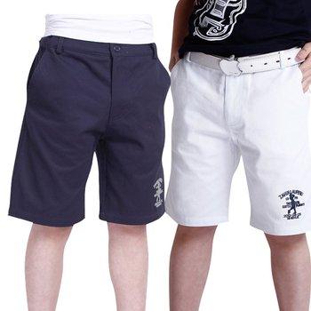 NWT Summer Kids Boys School Short Dress Trousers Black Cyan/White/Green 4T-12T