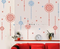 [Full house] 400pcs/set Flower wall sticker,with gift(Branches)