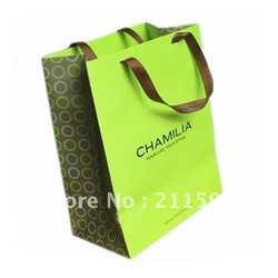 Retail Green ECO Paper Packaging Shopping Bags Print(China (Mainland))