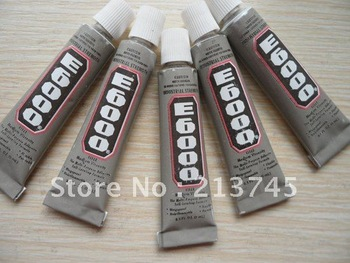 FREESHIPPING 200pcs  E6000 Glue  Glass Tile Pendant Jewelry Adhesive Glue 3ML Freeshipping