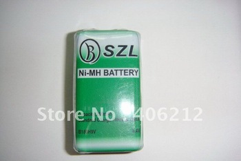 200mA 9V Nimh rechargeable battery for toys,bicycle ,LED or other power stock ,10pcs/lot
