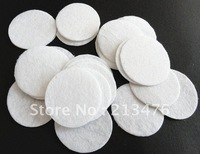 500pcs Felt 30mm Circle Appliques - White Free Shipping
