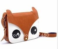 wholesale day bag shoulder bag  Handbag  Leisure Casual cute fox desgin Lady gril's Fashion Envelope message sling multi color
