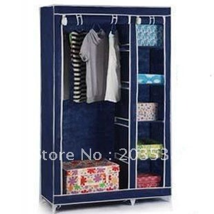 EMS Free shipping 2012 Best Sale DIY Foldable Wardrobe with Modern & Novel Design High Quality Factory Direct 1pcs/lot(China (Mainland))