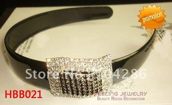 Crystal party hairband rhinestone birthday headband wide princess head band 60pcs/lot assorted styles free shipping