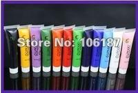 12 Colors 15ml 3D Nail Art Paint Tube Draw Painting Acrylic Nail Art Tip UV Gel