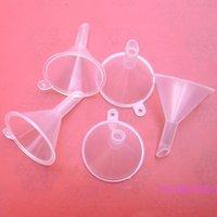100pcs/1Lot.Mini Funnel.Essential oil Funnel.Cream plastic Funnel clear funnel