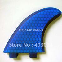 250120 G5 Fiberglass Honey Comb 3 Fins Set