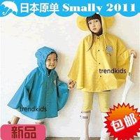 jackeybb Smally child raincoat poncho fashion sleeveless
