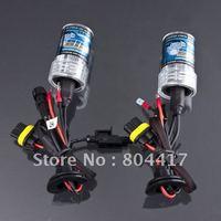 Wholesale New 2pcs White Color 2X 35W HID Xenon Car Head Light Lamp Bulbs H7 6000K 12V, Free Shipping