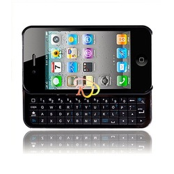 S5Y Bluetooth Sliding Keyboard & Hard Skin Cover Case For Apple Iphone 4 4G 4S(China (Mainland))