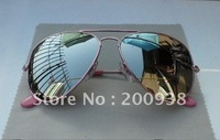 1pcs Fashion Designer Sunglasses Mirror Sunglasses men's/women's sunglasses with box@Sas5
