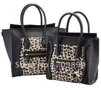 Gossip Leopard Pattern Girls Shoulder Purse Handbag Totes Bag LB174