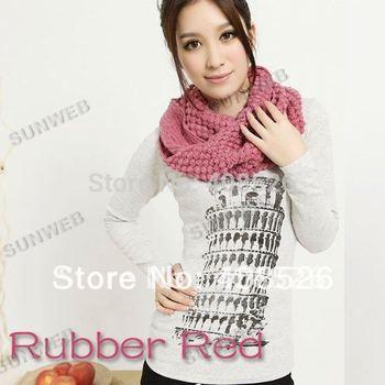 10 PCS Free Shipping new 2014 Winter grain sweet corn wool scarf corn scarves long shawls 8 colors 3455