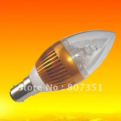 Supernova sale 20pcs/lot New power energy saving led lights candle shape B15 base socket 6w led(China (Mainland))