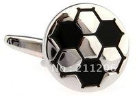 Free shipping novelty  cufflink football  design brand  cuff links for men  A0057