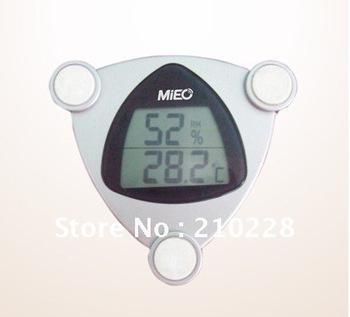 Hh310 ventana termómetro y higrómetro palos, termómetro electrónico + pantallas grandes dígitos LCD