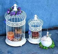 Simplicity Bird House Creative iron art Parrot cages European-style pet products Pet litter Bird cage