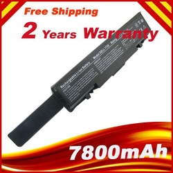 9 cells 7800mah Replacement Laptop Battery WU946 MT264 KM965 312-0702 KM958 For Dell Studio 1535 1536 1537 1555 1557 1558(China (Mainland))