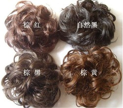 Free shipping jewelry Korean Rubber band elastic wig steamed rolls hair clasp, hair band, hair rope 36pcs/lot H108 wholesale(China (Mainland))