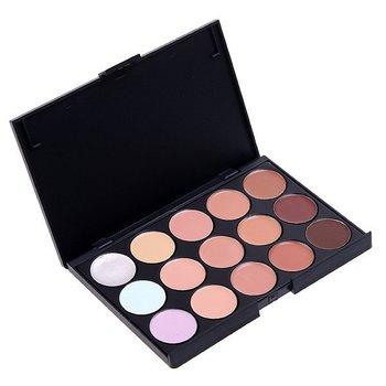 Free Shipping 15 Color Concealer Camouflage Makeup Palette Set, makeup tools Concealer Neutral Palette