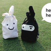 New arrivel Portable small  ditty bag ninja rabbit Lunch Bag+cheaper price storage bag 10pcs/lot