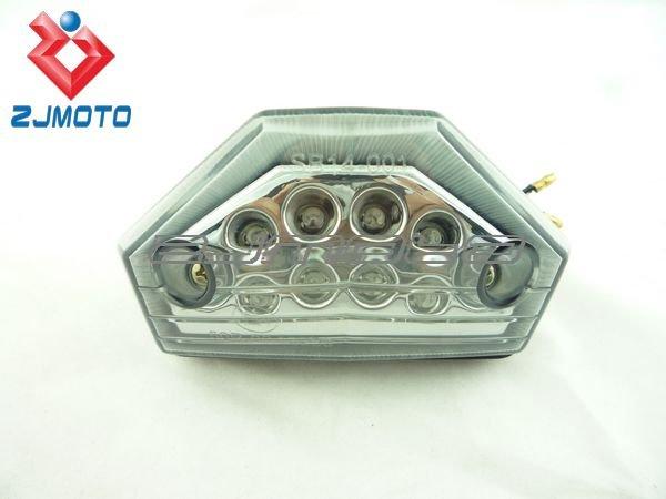 LED Tail stop brake light motorcycle dual sport atv ktm exc mxc super moto 450 f Smoky(China (Mainland))