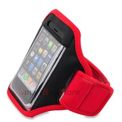 Universal Neoprene Sport Running Armband Case Workout Armband Holder Case for iphone 4 4s,Ipod,Iphone 3g 3gS free shipping(China (Mainland))
