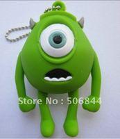 4-32GB Mini Mike Wazowski USB Flash Drive from MONSTER INC Funny Memory Stick & free shipping