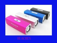free shipping Rectangle Mini Speaker Music Angel TF SD FM