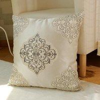 europe luxurious Cushion Pillow Cover elegant design square cushion case free shipping