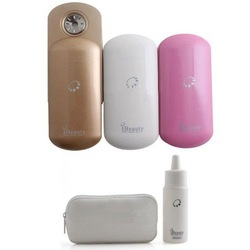 10pcs/lot free shipping iBeauty Nano Handy Mist Atomization Facial Humectant New Mini Facial Steamer Ionic Sprayer Spa Mist(Hong Kong)