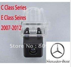 Free shipping,backup carcamera, CCD car rear view camera for Mercedes Benz C or E Series, Backup Rear View Camera Monitor