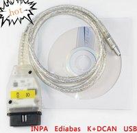 INPA Ediabas K+DCAN USB Interface D-CAN CAN OBD OBD2 OBD016 Diagnostic cable