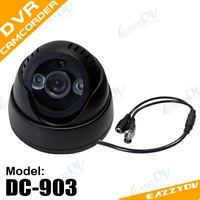 Hot sell remote control Day/Night 7daysx24hrs digital Video Recorder CCTV  Camera with video-out DVR UPC Barcode Ready