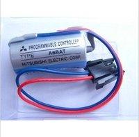 Free Shipping Wholesale 2pcs/lot Original ER17330V/3.6V A6BAT PLC Lithium Battery For Mitsubishi PLC